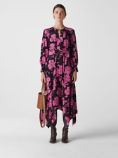 Whistles - LTD EDITION -  Ari Hibiscus Belted Dress - New With Tag - Size - 14