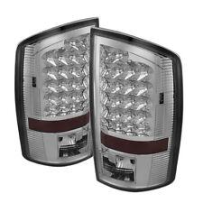 Dodge 07-08 Ram 1500 07-09 2500/3500 Chrome LED Tail Brake Lights Left & Right