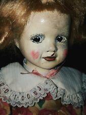 creepy doll ooak artist made gothic horror haunted