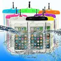 Universal Waterproof Case Underwater Dry Bag Pouch with Lanyard For 6 Inch Phone