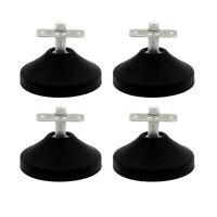4 Pcs/set Billiard Pool Table Leg Leveler Foosball Table Foot Pad Equipment Tool