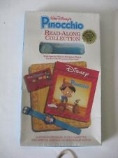Walt Disney's Pinocchio Read-along Collection  Hologram Watch Book Tape