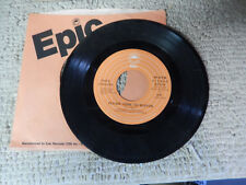 DAVE LOGGINS please come to boston/ let me go now  EPIC COMPANY SLEEVE    45