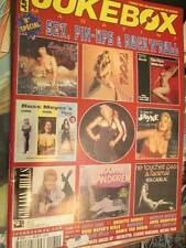 Jukebox French Music 2002 Magazine- Sex/Pinups/Rock n Roll-Betty Page/Brigitte B