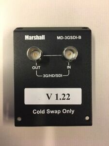 Marshall MD-3G-SDI-B Input Module with Loop-Through