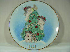"DREAMSICLES ""The Finishing Touches"" 1995 LIMITED EDITION CHRISTMAS PLATE"