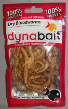Dynabait Dry Bloodworms - 100% Natural 100% Proven * 5 gram Packet *