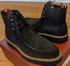 """$750 Mens Authentic Bally """"Lyons"""" Suede Loafer Chelsea Boots Brown 45 US 12"""