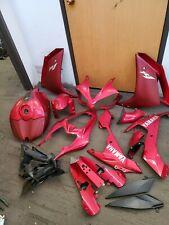 2008 07-08 YAMAHA YZF R1 Fairing Set Gas Tank Bodywork Plastic Kit Body OEM