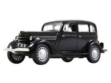 GAZ-11-73 M1 Black 1940 Year WWII USSR Soviet Car 1/43 Scale Collectible Model