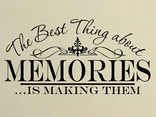 Photo memories Wall Decal - Family wall quote - wall of fame wall picture decor