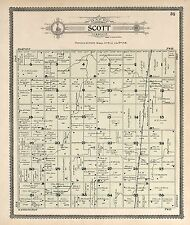 1908 Atlas Buena Vista County Iowa plat map Genealogy Land Owners Dvd P126