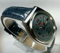 Vintage Seiko 21J Automatic Movement Day Date Dial Mens Wrist Watch AC221