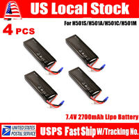 Hubsan X4 H501S Quadcopter Drone 7.4V 2700mAh Battery Pack Spare Parts H501S-29