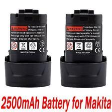 2x 10.8V 2.5AH Li-ion Akku für Makita BL1013 BL1014 LCT203W 194550-6 194551-4