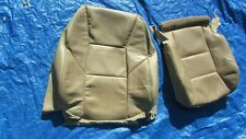 2001-2004 Volvo S60 V70 T-5 OEM Tan Driver Left Side Leather Seat Covers