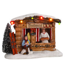 Luville Bratwurst Stand, Christmas Village, Christmas Decoration, Christmas Mark...