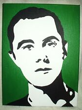 Canvas Painting The Big Bang Theory Sheldon Cooper Green Art 16x12 inch Acrylic