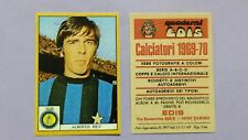 "FIGURINA CALCIATORI EDIS INTER REIF 1969-70 ""COPIA ANASTATICA"" REPRINT  NEW- FIO"