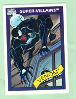 1990 Impel Marvel Universe Series 1 #73 Venom Super-Villains-Fresh pull