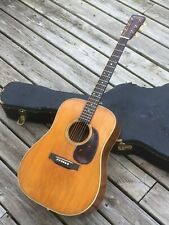 Vintage Martin D-28 conversion to 1946 Herringbone specs. Solid & powerful tone!