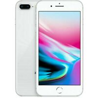 Apple iPhone 8 Plus - 64GB - Silver- Fully Unlocked (A1864) 4G LTE Smartphone