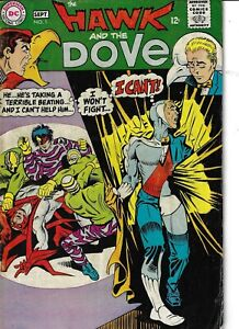 Hawk And The Dove 1 VG/F 1968 Glossy Ditko Art