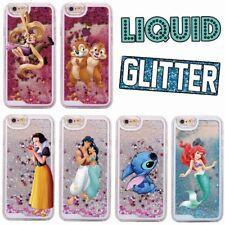 Disney Moving Glitter Liquid Phone Case Cover iPhone 4 5 5S SE 6 7 8 PLUS