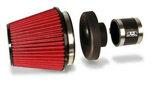 BLOX Performance Filter Kit w/3.5inch Velocity Stack Black Filter & 3.5inch Hose