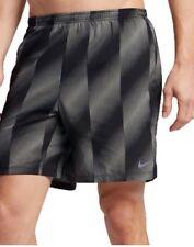 """Nike Flex 7"""" Pantalones Cortos De Hombre Para Correr-Gris/Negro Pequeño Bolo"""