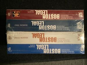 Boston Legal Series Season(1-4) [DVD] Set Collection TV SHOW MustSEE!