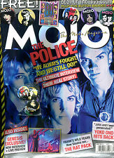 MOJO no. 165  August 2007  :  The Police  (with five free buttons...)