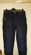 mens voi jeans .co jeans size  w30 style bullet blk new with tags