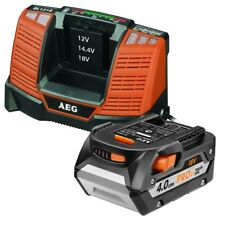 AEG 18V 4.0Ah Battery And Charger Pack