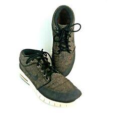 Nike Stefan Janoski Max Mid Brown 10.5 Skate Sneakers Shoes