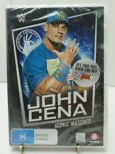 WWE Iconic Matches John Cena DVD Aus Region 4 Ww2k18 Not for Resale Copy