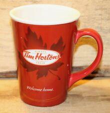 Tim Hortons Limited Edition Coffee Mug Cup #011 Welcome Home + Nice