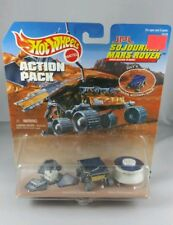 1997 Hot Wheels Sojourner Mars Rover Action Pack Mission To Mars #16145
