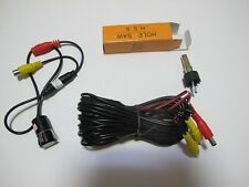 Universal car rearview camera,round camera,fit all 12V cars,hole saw included.
