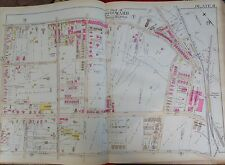 1889 GERMANTOWN WAYNE JUNCTION STATION TO QUEEN ST PHILADELPHIA PA  ATLAS MAP