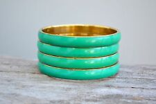 Brass & Resin Bangle, bracelet Set Of 4
