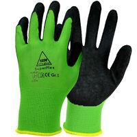Handschuhe Superflex Arbeitshandschuhe 10 Paar Montagehandschuhe Latex Gr. 7-11