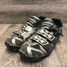Shimano Pedaling Dynamics Mens Off Set Cycling Shoes Metallic Buckle 10.5 EUR 45
