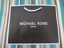 Soft cardboard gift bag very small Michael Kors Black paper carrier bags no tag