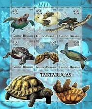 Turtle Stamp Reptile Fish Marine Fauna Scout Scouting S/S MNH #3223-3228