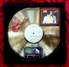 "Elvis Presley  GOLD RECORD  ""Today""  His last recording session 1975 album"