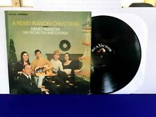 A MERRY MANCINI CHRISTMAS 1966 RCA Victor Stereo Henry Mancini Orchestra VG+/VG+