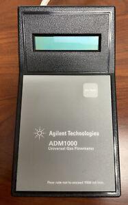 Agilent Technologies ADM1000 Universal Gas Flowmeter 2018 Model