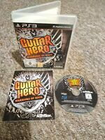 Guitar Hero: Warriors Of Rock - Sony PS3 Game - COMPLETE - FAST & FREE P&P!