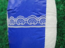 10 yards of white lace embroidery lace unilateral 2.5 cm